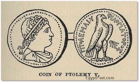 A Coin of Ptolemy V